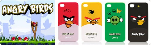 Angry Birds Cases für iPhone 4 - jetzt bei StyleMyPhone.de