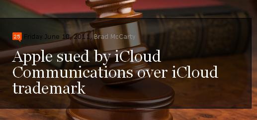 Apple: Klage wegen iCloud