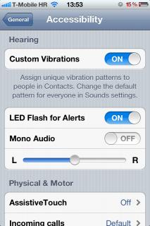 iOS 5 mit benutzerdefinierten Vibrationen