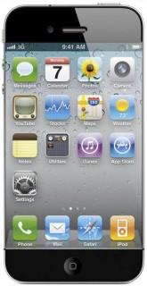 Mockup: iPhone 5 mit flächenfüllendem Display ohne Rand