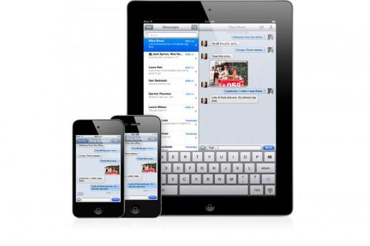 iOS 5 mit iMessage
