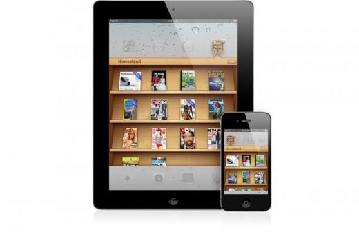 iOS 5: Newsstand App für Magazine und Abos