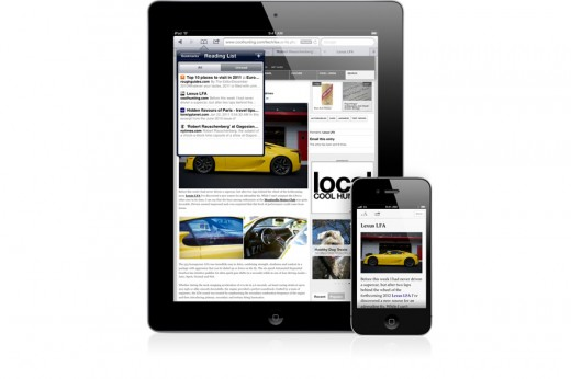 iOS 5 mit überarbeitetem Safari für noch mehr Web-Komfort