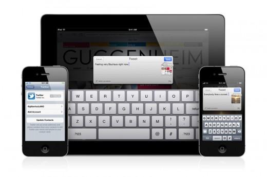 iOS 5 mit systemweiter Twitter-Integration