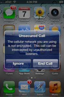 iOS 5: Warnung bei unverschlüsselten Anrufen