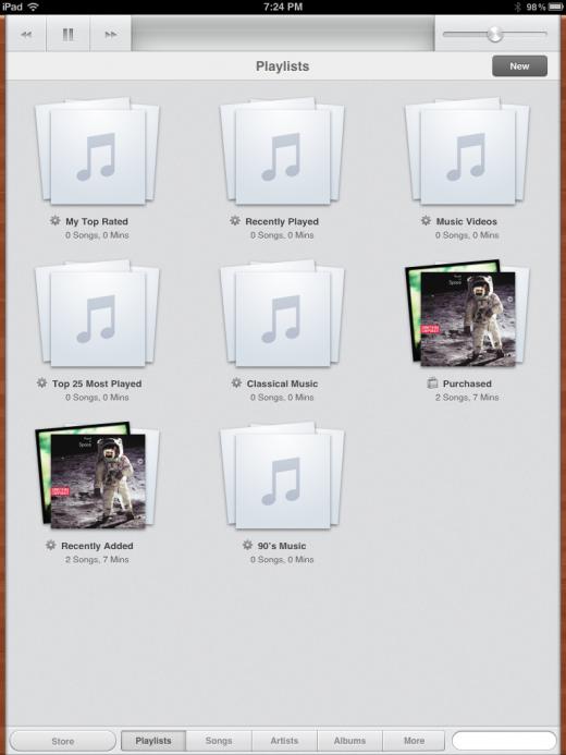 Das iPad bekommt eine neue Musik-App in iOS 5
