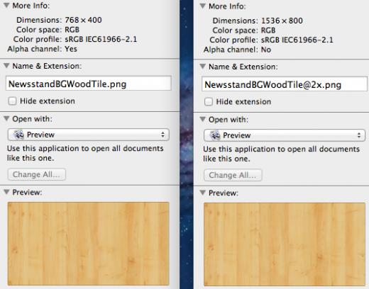Newsstand App für iPad: Auch hier gibt es jetzt Grafiken in Retina Auflösung