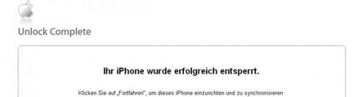 Deutsche Telekom: iPhone 3GS ab morgen legal entsperren