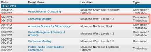 Ist das Datum für die WWDC 2012 bereits fixiert?