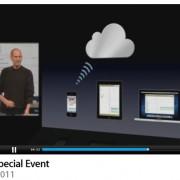WWDC Keynote: Steve Jobs stellt iCloud vor