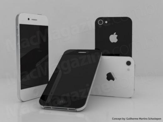 iPhone 5 Konzept von Guilherme Schasiepen