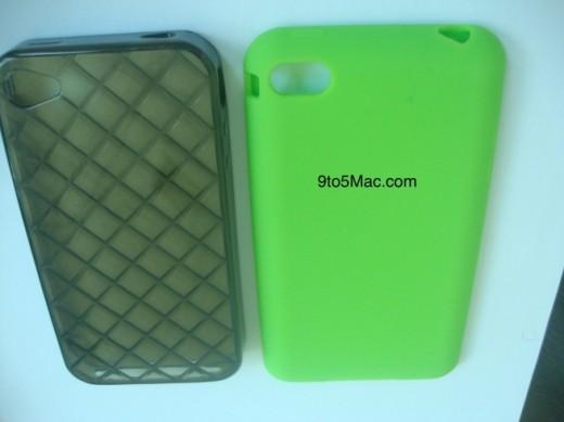 iPhone 5 Silikon-Case (rechts) gibt Hinweise auf neues iPhone Design