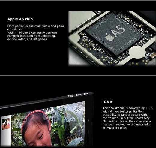iPhone 5 Mockup von NAK