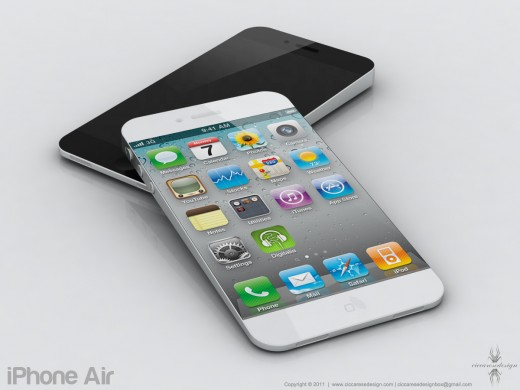 iPhone 5 Mockup: iPhone Air