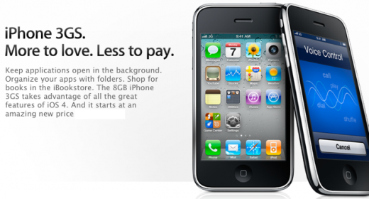 Wird das iPhone 3GS zum neuen, günstigen Einsteiger-iPhone?