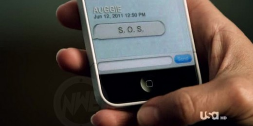 "iPhone 5 Attrappe bei ""Covert Affairs"""