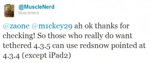 iOS 4.3.5: Tethered Jailbreak bereits möglich!