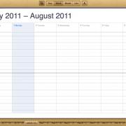 iCloud Web-Interface: Kalender