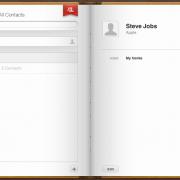 iCloud Web-Interface: Kontakte