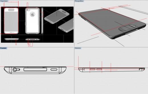 iPhone 5 Mockup von CiccareseDesign, auf Grundlage der iPhone 5 Case Designs
