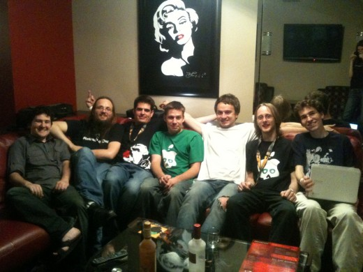 Def Con 2011: iOS Jailbreaker Gruppenfoto