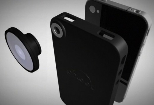 Pixeet: iPhone Case und Fischaugen-Aufsatz für iPhone 4, iPhone 3GS und iPhone 3G