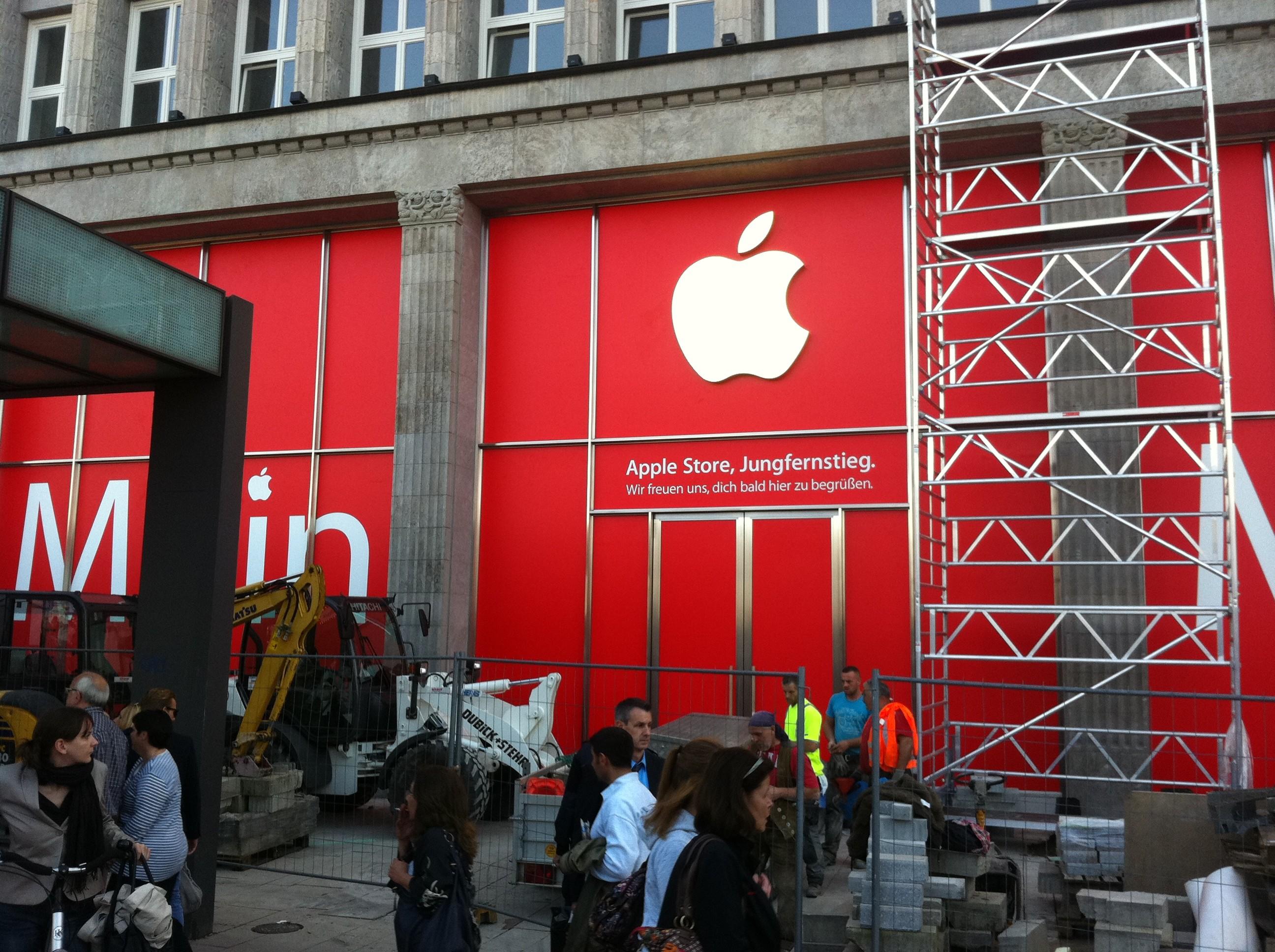 neuer apple store in hamburg iphone news die neuesten informationen zu iphone 5 iphone 6. Black Bedroom Furniture Sets. Home Design Ideas