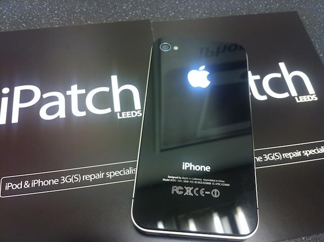 Iphone Mod Leuchtendes Apple Logo Auf Iphone 4 Iphone News Die