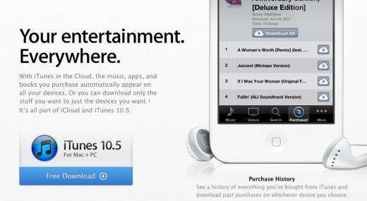 iTunes 10.5 Update