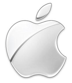 Das bekannte Apple Logo