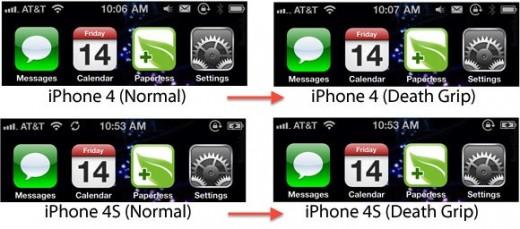 iPhone 4S: Immun gegen den Todesgriff