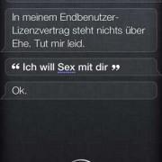 Siri, willst du mich heiraten?
