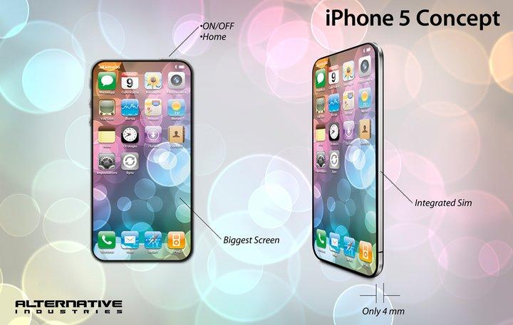 В этом посте собраны самые интересные фотографии концептов смартфона iPhone