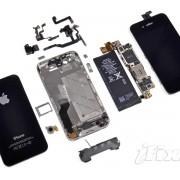 Teardown: iPhone 4S in Einzelteilen.