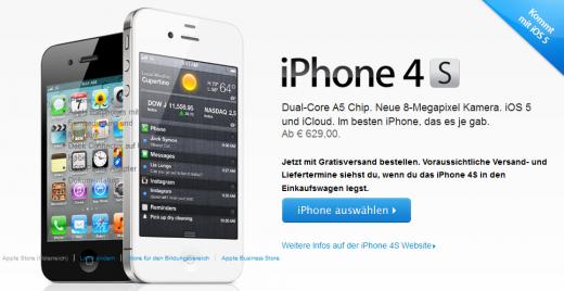 iPhone 4S kaufen - aber wo?