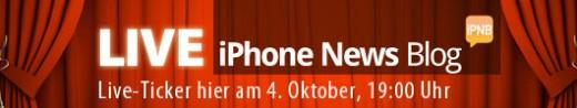 iPhone Event: Der Live Ticker bei iPhone News