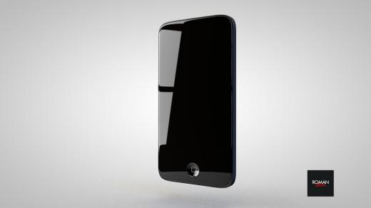 iPhone 5 Konzept: Hochglanz