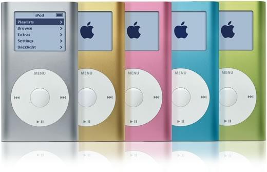 06.01.2004: iPod Mini 1G