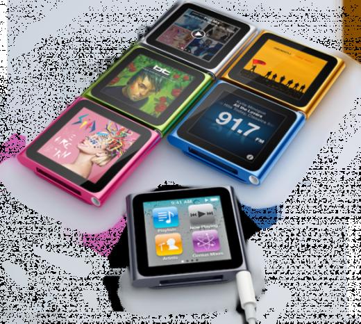 01.09.2010: iPod Nano 6G
