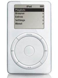 Der iPod 1. Generation