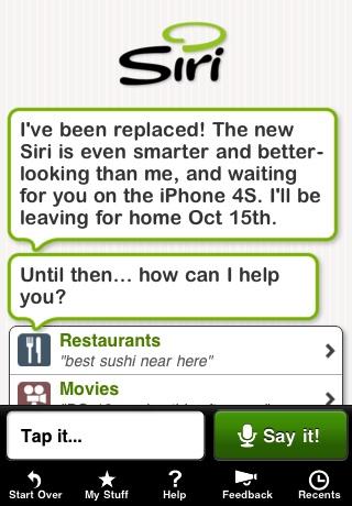Der bestehende Siri-Dienst wird am 15. Oktober deaktiviert.