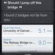 Soll ich von der Brücke springen?