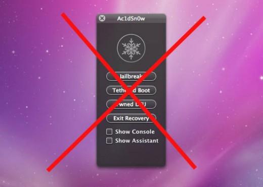 iOS 5 Jailbreak: Ac1dSn0w (tethered) und Chronic-Dev Crash Reporter für zukünftigen untethered Jailbreak