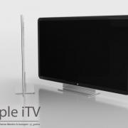 iTV: Könnte Apple's neues HDTV-Projekt so aussehen? (Konzept: Guilherme Schasiepen)