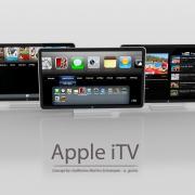 iTV: Könnte Apple's neuer HD-Fernseher so aussehen? (Konzept: Guilherme Schasiepen)