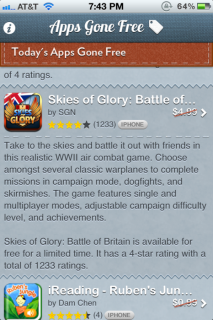 AppsGoneFree: App-Angebote ideal nutzen