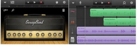 Garageband: Jetzt auch für iPhone & iPod Touch