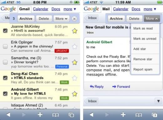 Gmail bald mit nativer iOS-App?