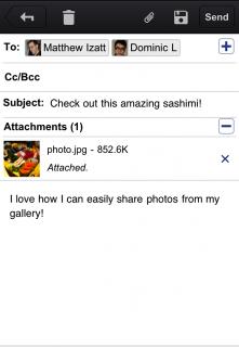 Einfacher Foto-Upload mit der neuen Gmail App für iPhone & iPad