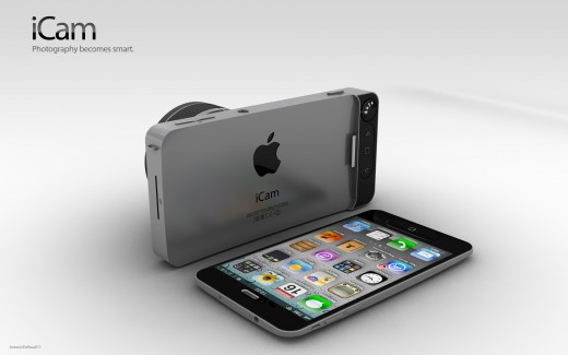 iCam Konzept: Siri-kompatibles iPhone 5 Camera Case